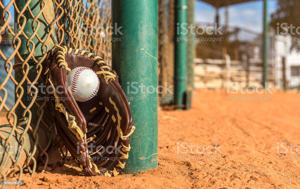 Baseball is back stock photo