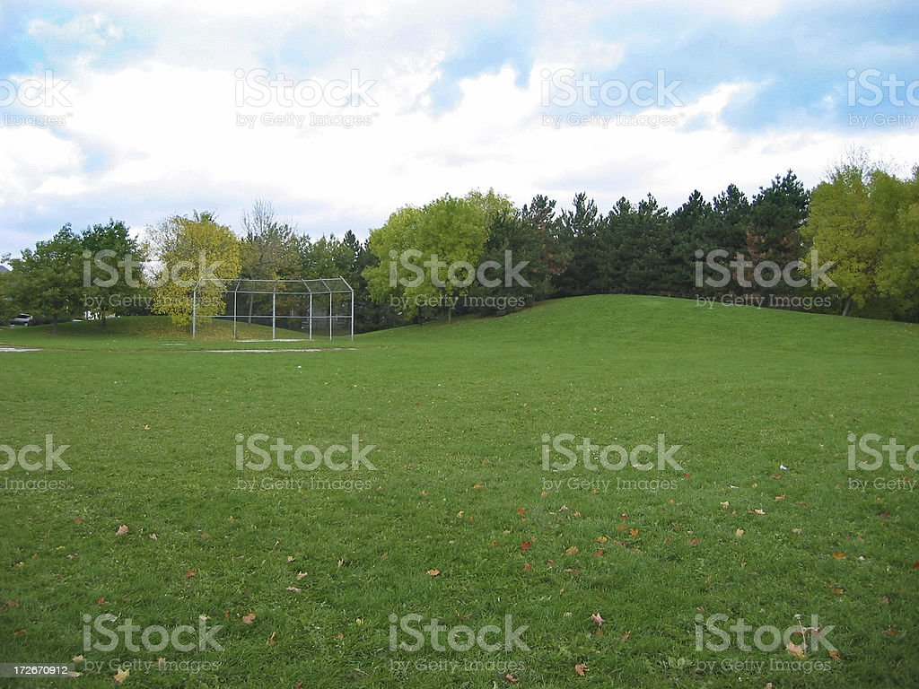 Baseball Lot royalty-free stock photo