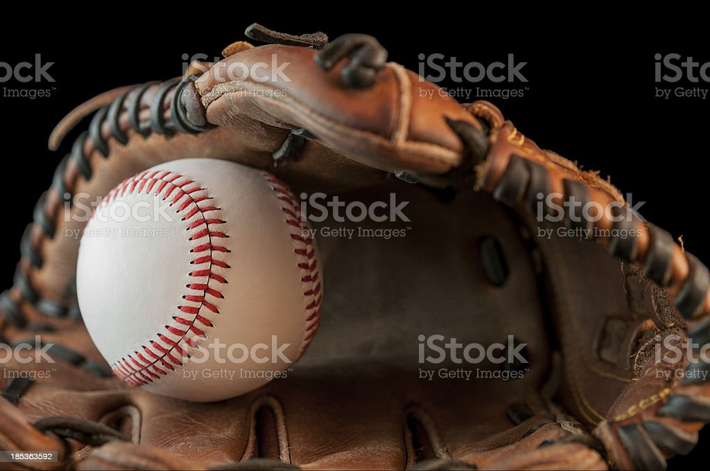 Baseball memories royalty-free stock photo