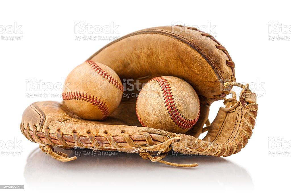 Baseball nostalgia stock photo