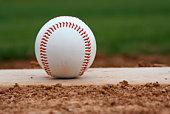 istock Baseball on the mound 92410015