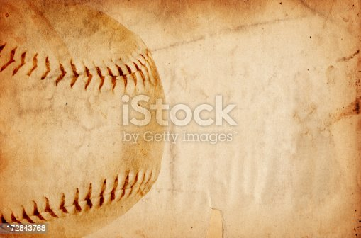 istock Baseball Paper XXXL 172843768