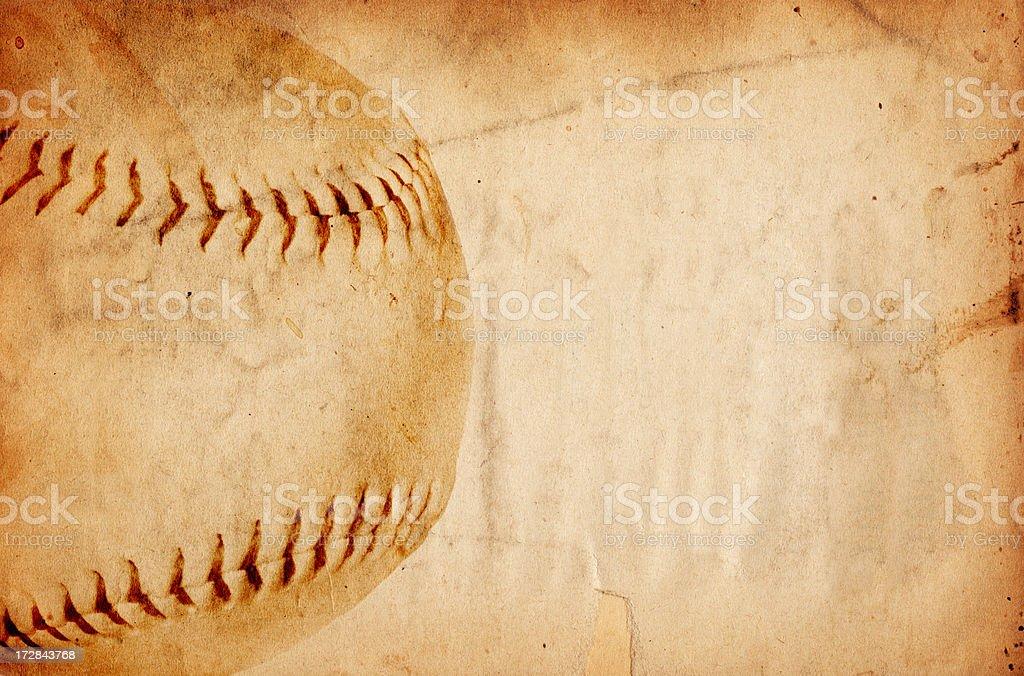 Baseball Paper XXXL stock photo
