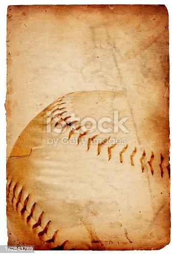 istock Baseball Paper XXXL 172843769