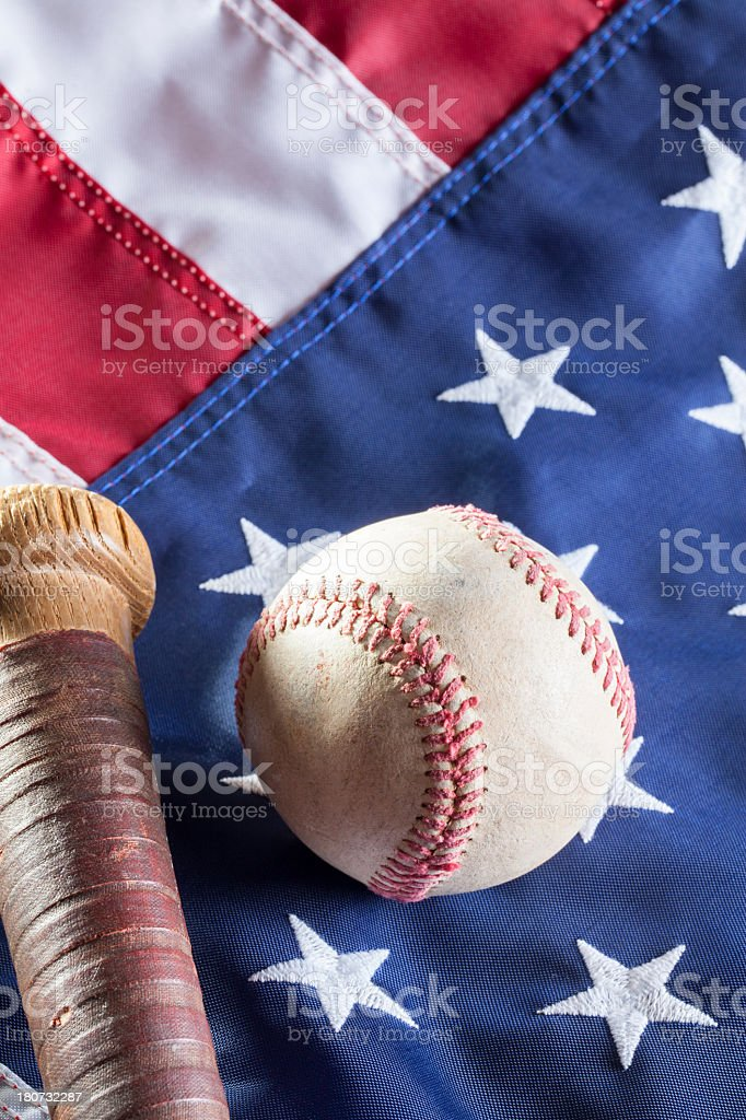 USA Baseball royalty-free stock photo