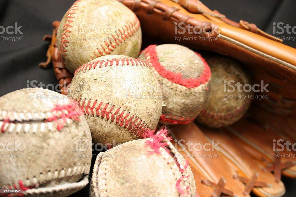 balls and glove