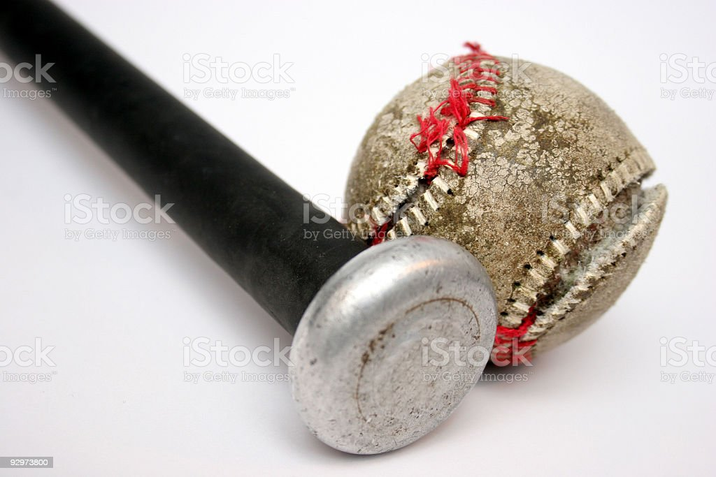 Ball and Bat in isolated