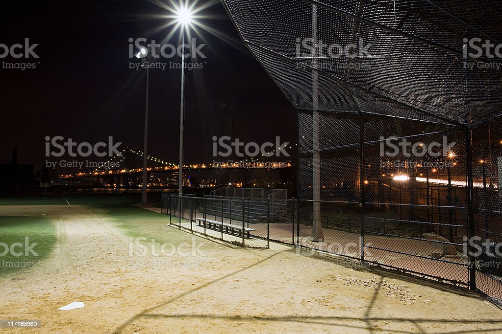 Baseball pitch stock photo
