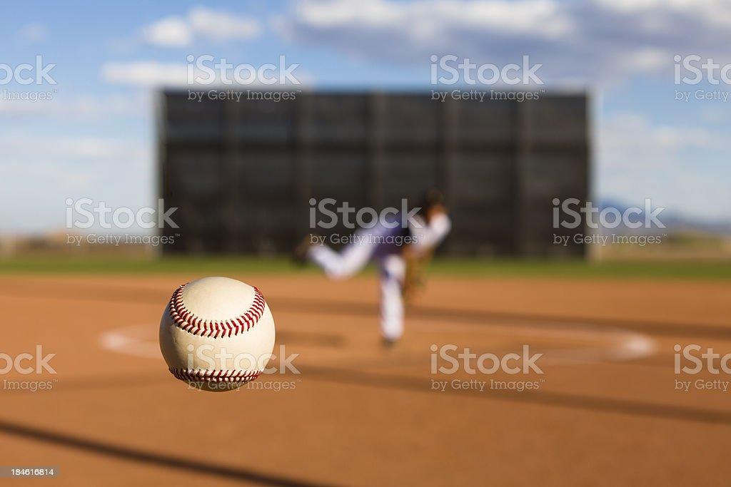 Baseball Pitch stock photo