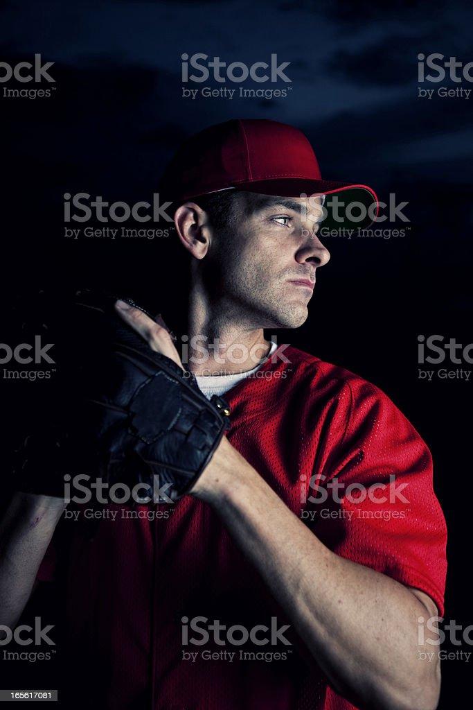Baseball Pitcher royalty-free stock photo