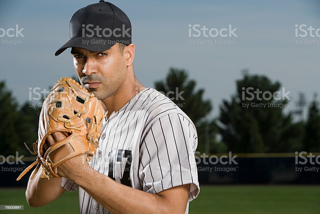 Baseball pitcher 免版稅 stock photo