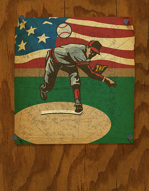 Baseball Pitcher Poster - Retro Style Background Baseball Pitcher Poster - Retro Style Background. Baseball Pitcher Poster - Retro Style. Grunge Style Poster Illustration of a Baseball Pitcher Poster - Retro Style. Check out my