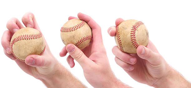 baseball pitches - knuckle stock photos and pictures