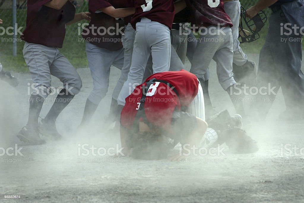 Baseball player expression losing sucks stock photo