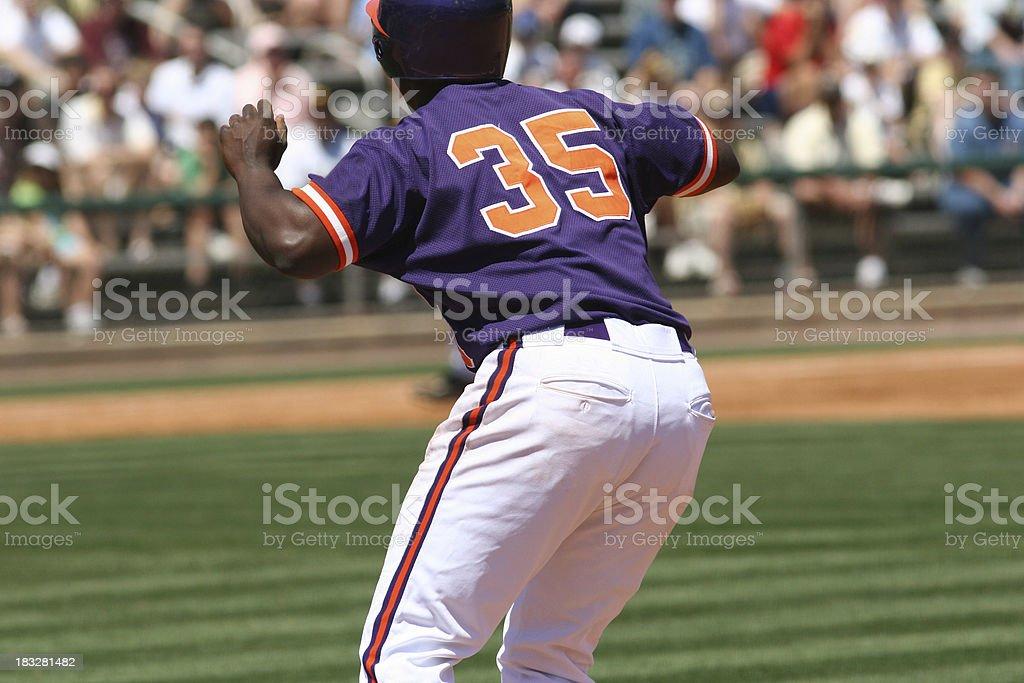an african american baseball player