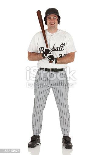 istock Baseball player 185110875