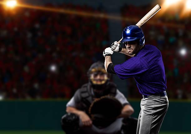 Joueur de Baseball  - Photo