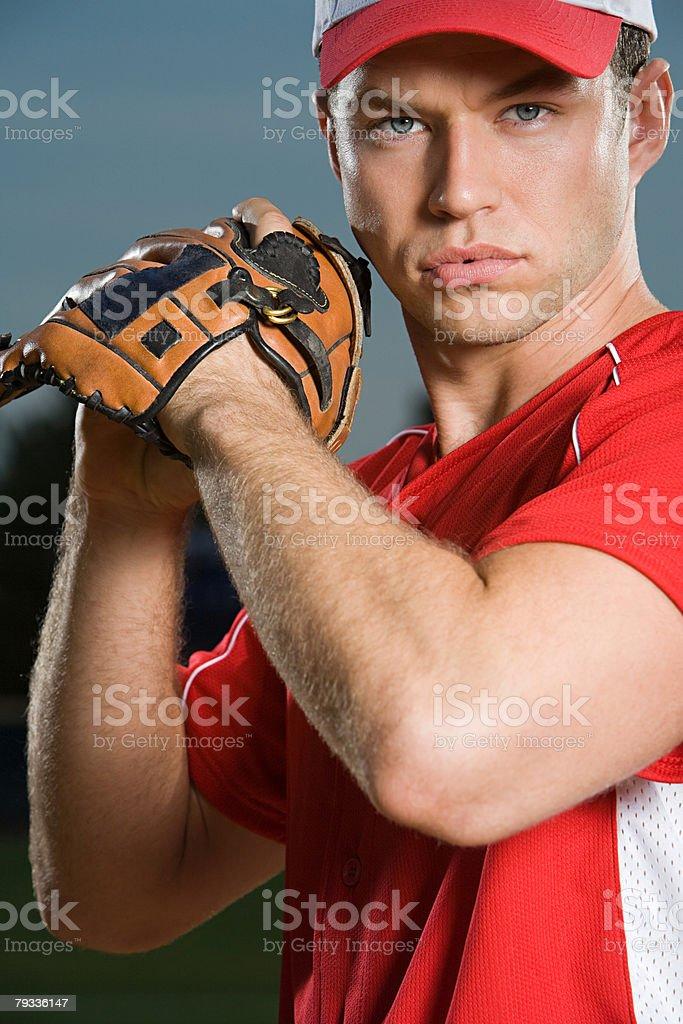 Jogador de Beisebol foto de stock royalty-free
