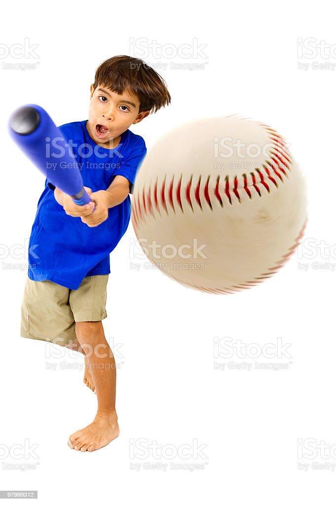 Baseball Player royalty free stockfoto
