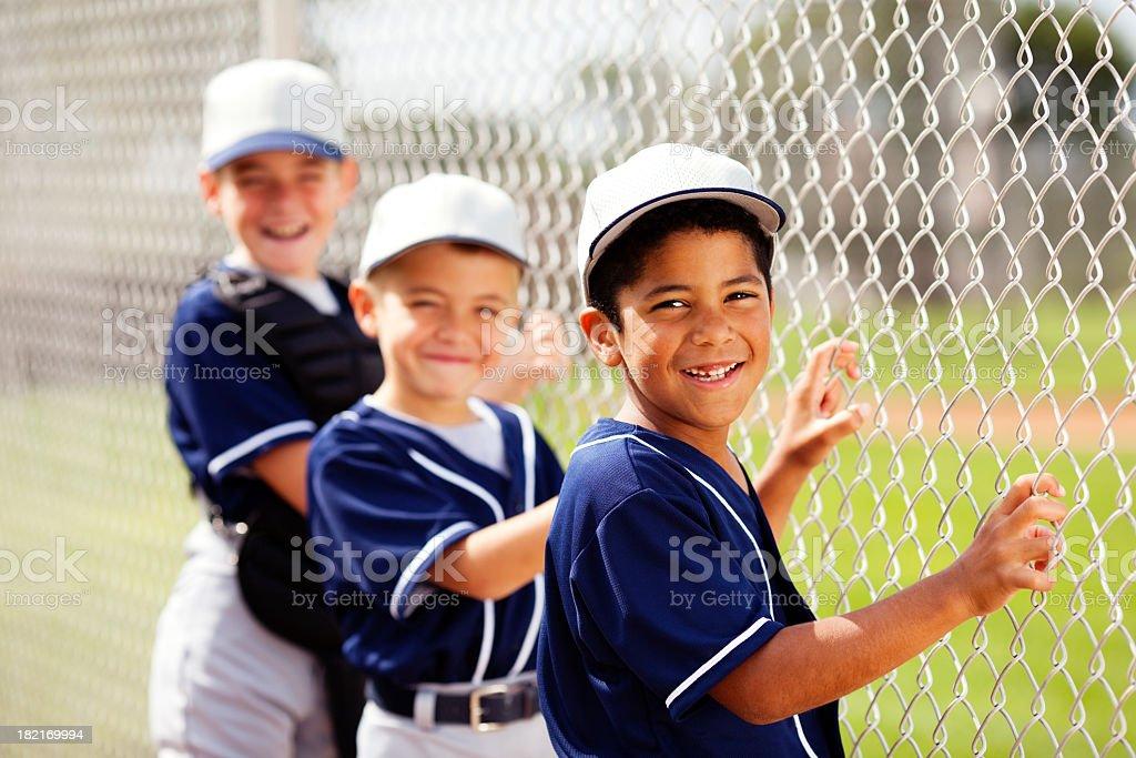 Baseball Players royalty-free stock photo