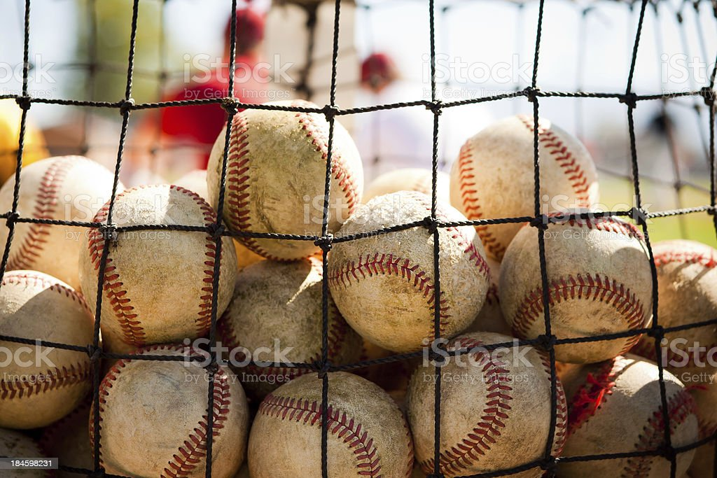 Baseball Practice stock photo