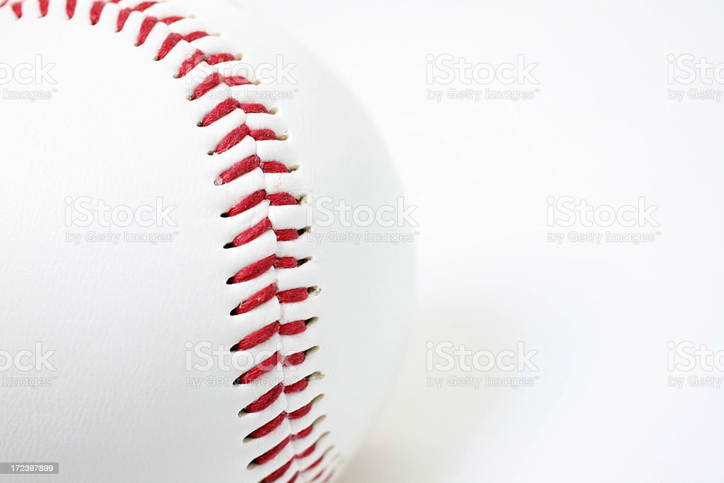 Baseball Seam royalty-free stock photo