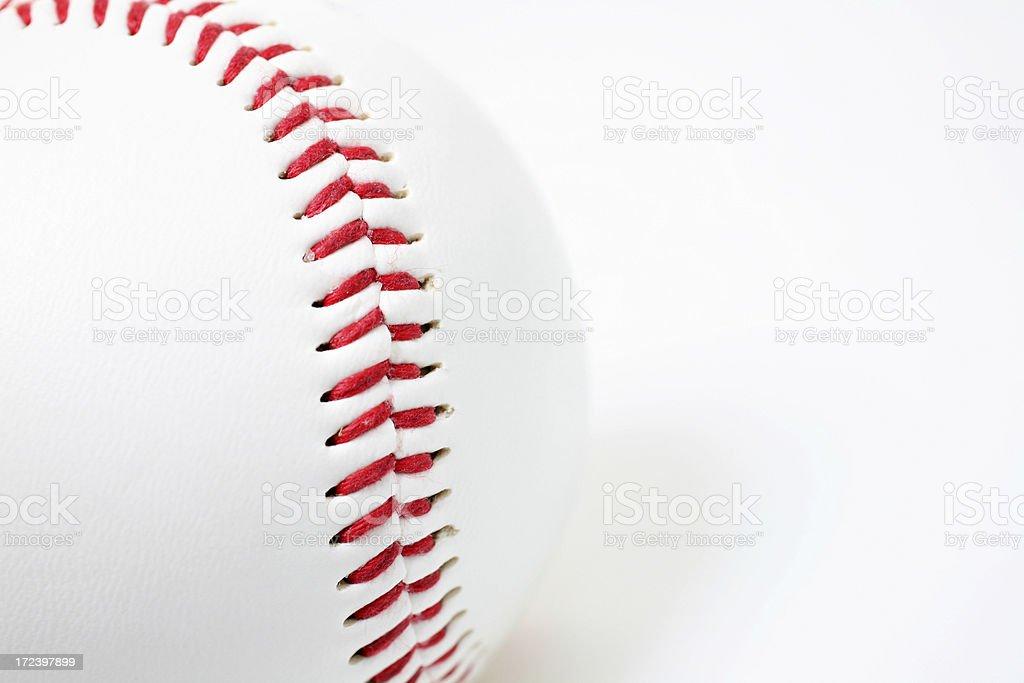 Baseball Seam stock photo