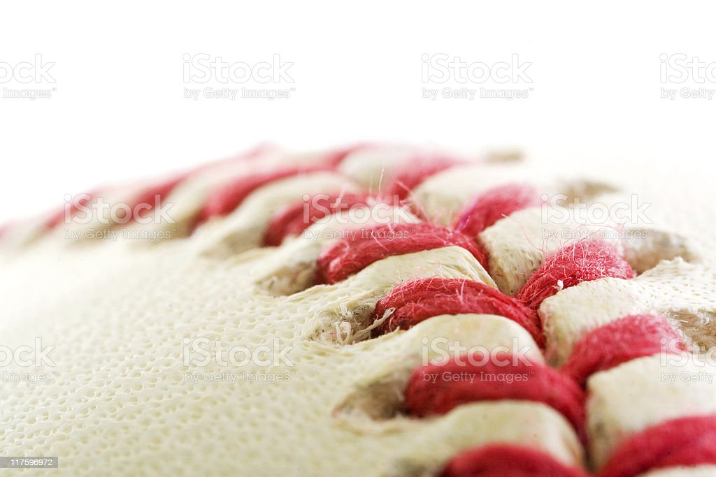 Baseball Seams royalty-free stock photo