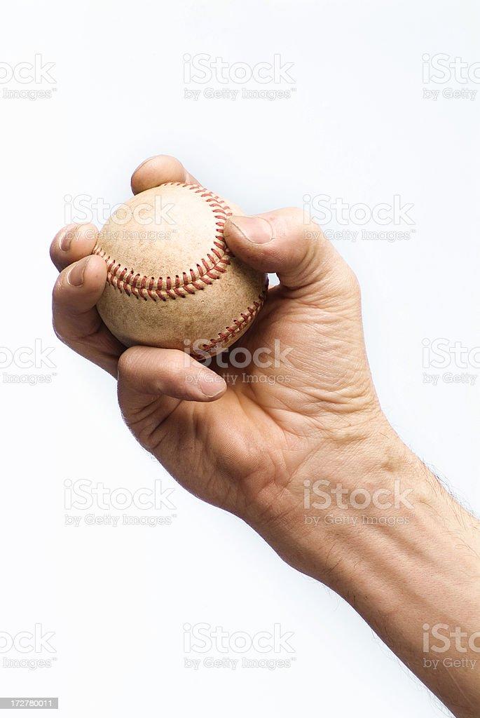 Baseball Series royalty-free stock photo