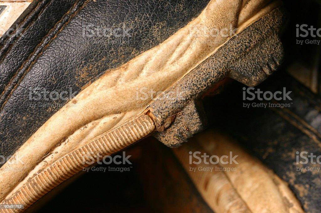 Baseball Shoes stock photo