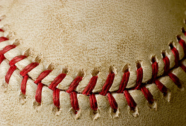 Baseball Smile stock photo