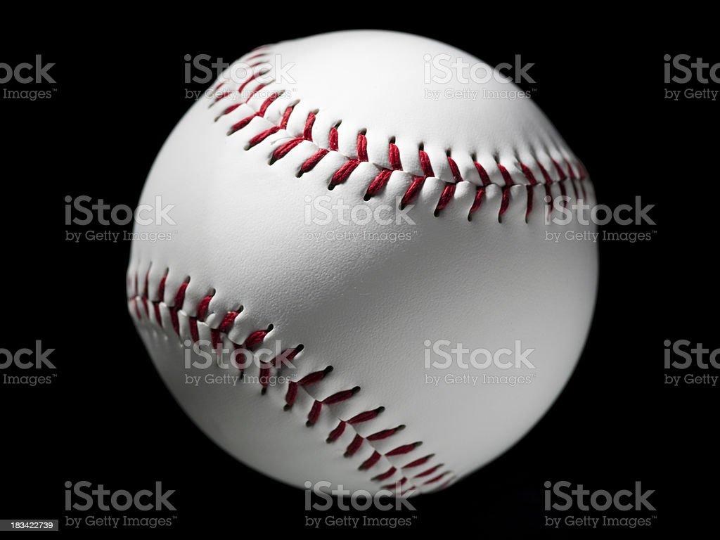 Baseball softball royalty-free stock photo