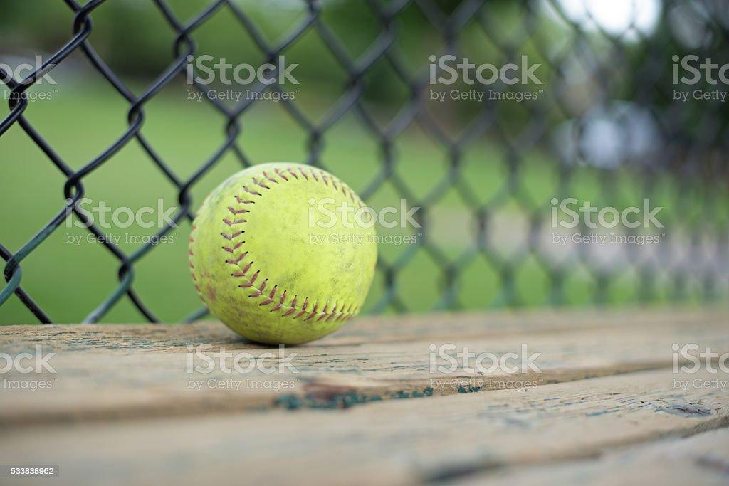 Baseball Softball Play stock photo