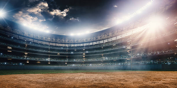 stade de baseball - baseball photos et images de collection