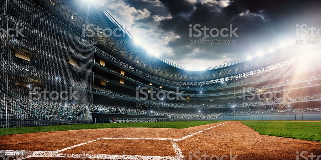 Estadio de béisbol - foto de stock