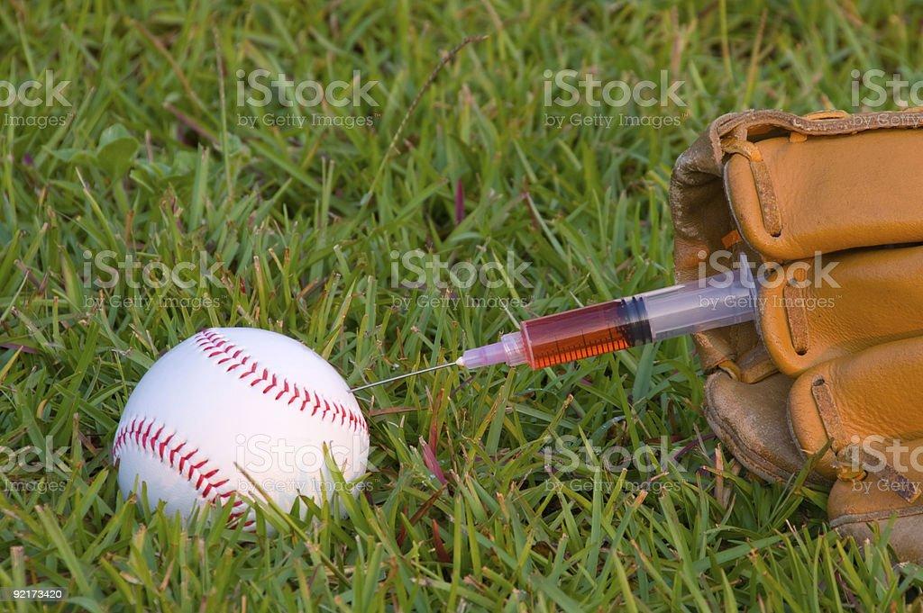 Baseball Steroids stock photo