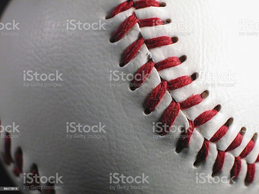 Бейсбольная стежками Стоковые фото Стоковая фотография