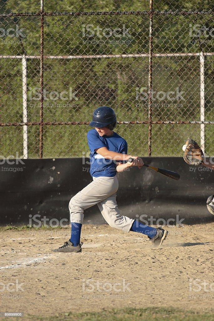 Baseball Strike royalty-free stock photo