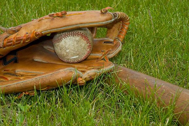 Baseball Stuff stock photo