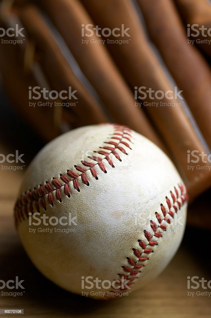 Baseball Stuff royalty-free stock photo