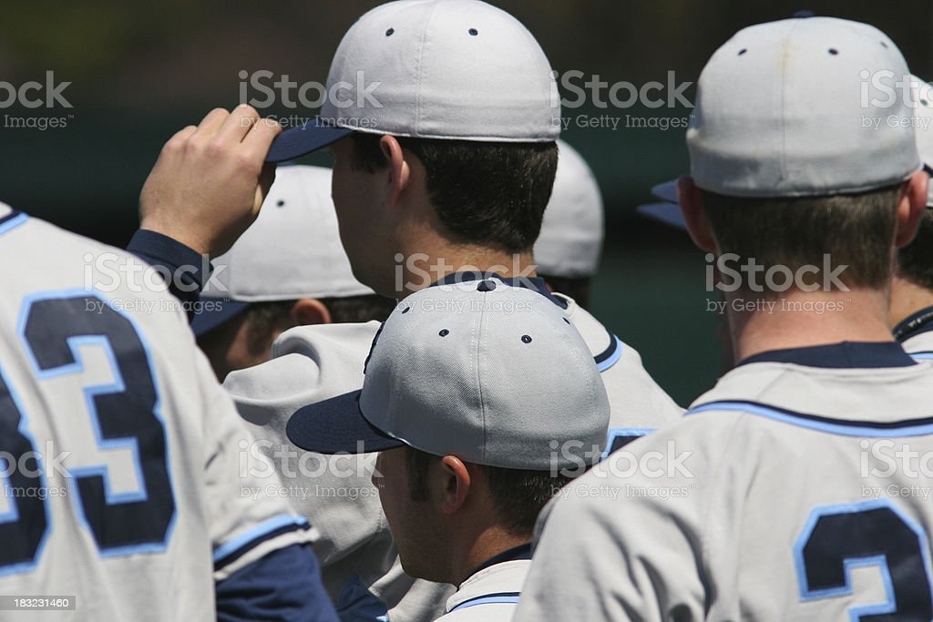 Baseball Team stock photo