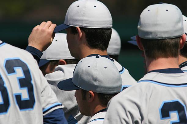 Baseball Team stock photo