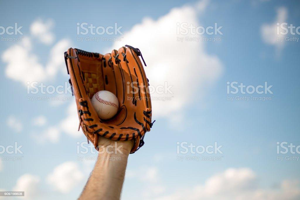 Tiempo de béisbol - foto de stock