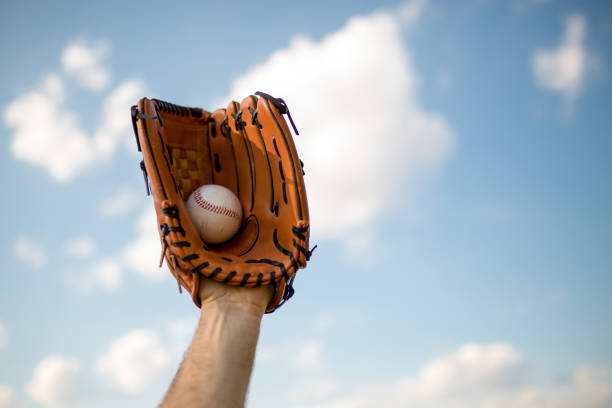 Baseball time stock photo