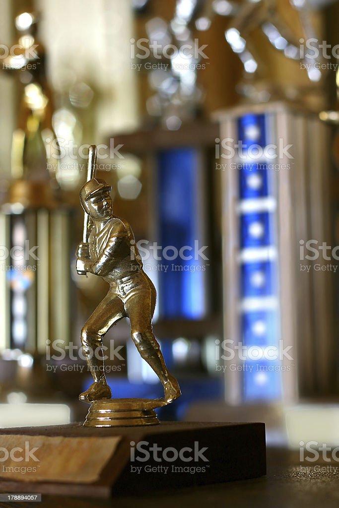 Baseball Trophy royalty-free stock photo