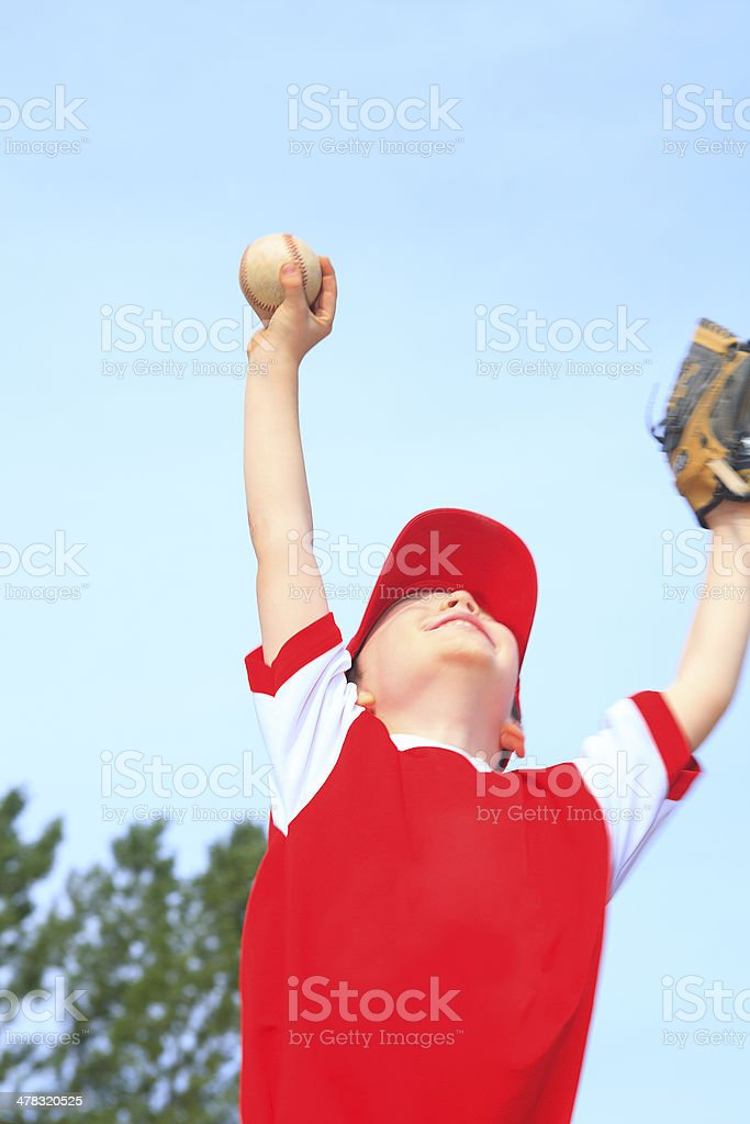 Baseball - Victory Boy royalty-free stock photo