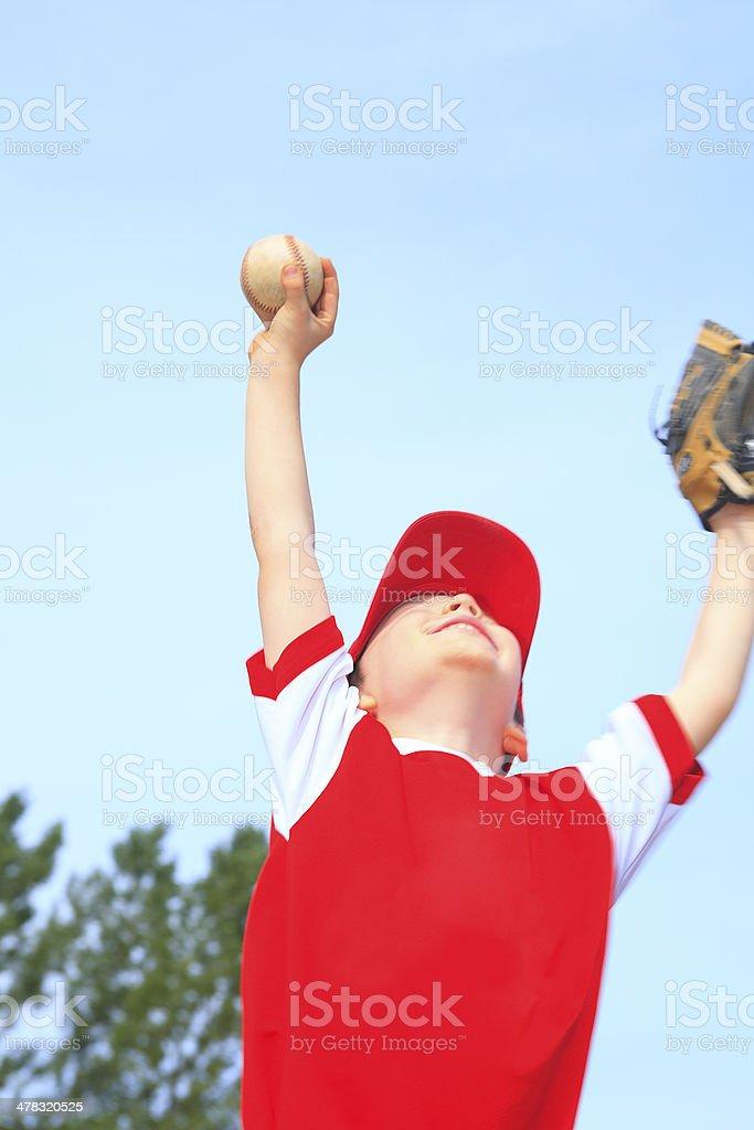 Baseball - Victory Boy stock photo