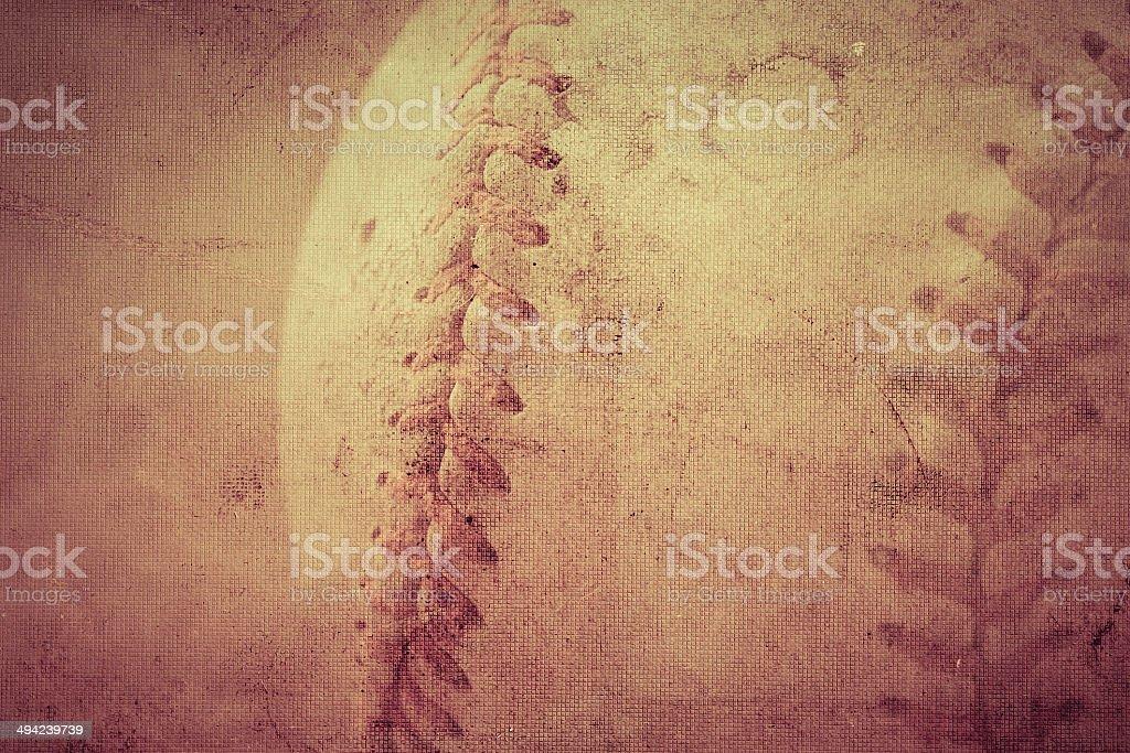 Baseball vintage background stock photo