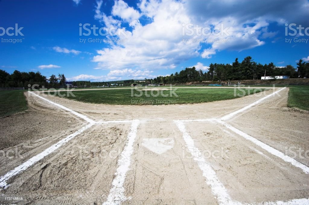 baseball wide royalty-free stock photo