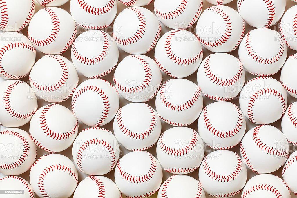 Baseballs stock photo